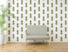 Pineapple Wall Decal, Retro Wall Decal, Pineapple Wall Decor, Tropical Fruit