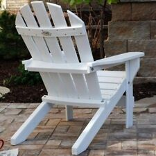 Jayhawk Plastics Recycled Plastic Cape Cod Adirondack Chair With Side Table. Shi