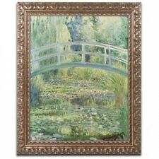 """Trademark Fine Art """"The Water Lily Pond, 4820cm Canvas Art by Claude Monet, Gold"""