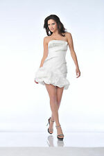 TheDressOutlet Sexy Short Cocktail Taffeta Strapless Homecoming Dress Sale