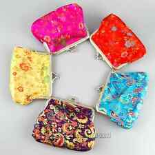 Wholesale 10pcs Charming Chinese Handmade Silk Classic Coin Purses/Bags/Wallet