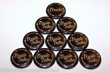 Bride Tribe Gold Arrows Pins Bachelorette Party Favors Pin Buttons - 10 Pack