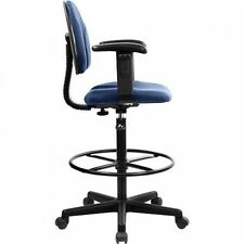 Ergonomic Multi-Function Drafting Stool with Arms, Multiple Colours. Shipping In