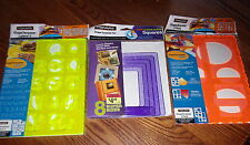 FISKARS SHAPE TEMPLATE SET SELECT STYLE NEW IN PACKAGE