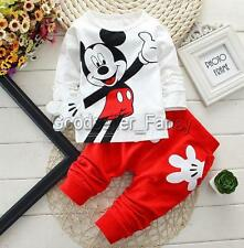 Baby Toddler Boy Kids Tops Pants Outfit Cotton Long Sleeve Clothes Trousers Set