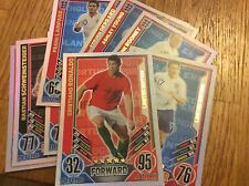 MATCH ATTAX EURO 2012 CHOOSE YOUR LIMITED EDITION OR 100 CLUB FROM LIST