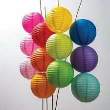 "5/10 pcs 8""  Paper Chinese Lantern String Lamp Wedding Party Home Decoration"