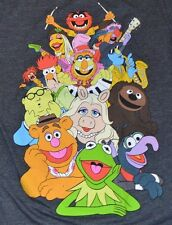 The Muppets Adult Men's Small T-Shirt Graphic Tee Officially Licensed Disney