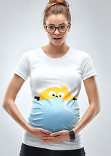 NEW - Mamagama - Peek A Boo Chick T-Shirt | Maternity Clothes