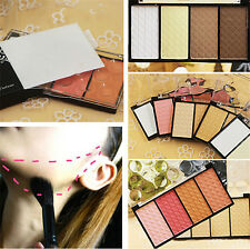 4 Colors Highlight and Contour Powder Palette Cosmetic Facial Makeup Palette New