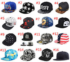 New  Men's Women Snapback Hat Baseball Caps adjustable Sport Unisex Hip Hop Hats