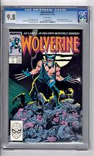 Wolverine #1(1988) CGC 9.8 WP '1st Wolverine as Patch..Byrne pin-up back Cover!