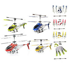 Syma S107 S107G 3.5CH Alloy Mini Remote Control RC Helicopter Gyro Toy Genuine