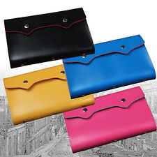 Modern New Unisex 108 Slots Bag Name ID Business Card Holder Credit Card Case
