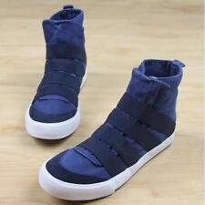 Mens Fashion Canvas High Tops Sneakers Pull on Sport Casual loafer  Shoes new