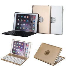 New Ultrabook Hard Backlit Bluetooth Keyboard Cover Clamshell Case For iPad Air