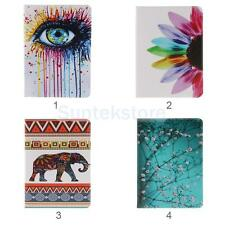 Pattern Flip PU Leather Protect Cover Card Case Holder For iPad 6 7 Air 2 3 Mini