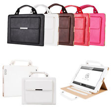 Leather Carrying Handbag Wallet Stand Sleep/Wake Case Smart For Apple iPad Air