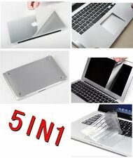 5in1 Surface Protector 3M Sticker Aluminum Unibody Skin Cover for Apple Macbook