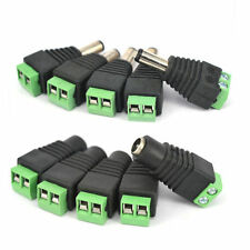 5pcs Power Supply Plug Tool DC 12V  Connector for 5050 3528 LED Strip Light c