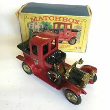 Matchbox Y-11 1912 Packard Landaulet Boxed Yesteryear