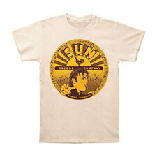Elvis Presley Men's  Elvis Full Sun Label T-shirt Ivory Rockabilia