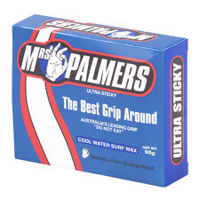 New Mrs Palmers Cool Water Surf Wax in White | Hardware Surfing Wax