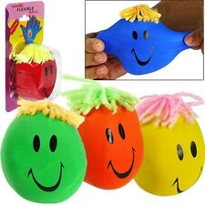 Smiley Face Squishy Stress & Mood Squeeze Hand Exercise Ball WHOLESALE BULK LOT
