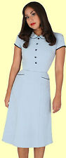 Stop Staring! - Blue A-Line Dress.  New With Several Sizes.