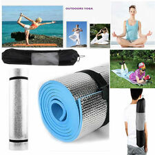 6mm Thick Non-Slip Yoga Mat Exercise Fitness Lose Weight Leisure Pad Gym Blue