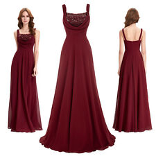 KK Long Gown Evening Prom Party Dress Sequins Backless Bridesmaids New Cocktail