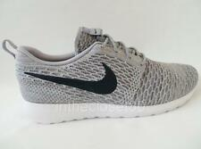 Nike Flyknit Rosherun Light Charcoal Wolf Grey Obsidian Mens Trainers 677243 006