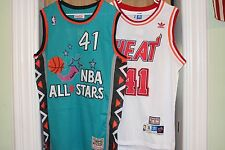 GLEN RICE JERSEY THROWBACK MIAMI HEAT ALL STAR NBA NEW HORNETS