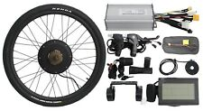 36V/48v 500W Rear Wheel Ebike Conversion Kit with Square Wave Controller