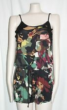 ROMPER CAMOUFLAGE PRINTED JUMPER BY JALOUX NEW SZ SMALL