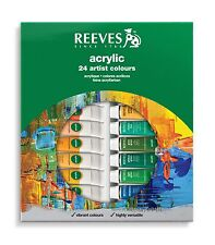 Reeves Acrylic Oil Aquarell- and Gouache color assortments