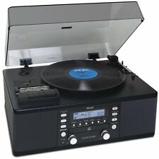 Teac LP-R550USB CD Recorder with Cassette Turntable Black
