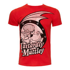 Vintage Cartoon Tops Mens Official Wacky Races Red Dastardly & Muttley Tshirt
