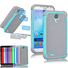 Hybrid Rugged Rubber Matte Hard Case Cover Skin for Samsung Galaxy S4 S IV I9500