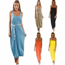Summer Womens Sexy Boho Cocktail Evening Party Beach Dress Long Maxi Dress S/M/L