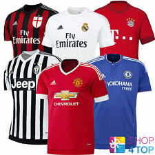 ADIDAS FOOTBALL SOCCER JERSEY 2015 2016 CLUB TEAM OFFICIAL AUTHENTIC NEW