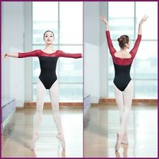 WMRA4# Women's Dancewear Lace Ballet Leotard Unitard 5 Sizes
