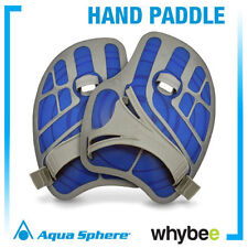 AQUA SPHERE SWIMMING ERGO HAND PADDLE - SWIM TRAINING HAND PADDLES - Blue R & S