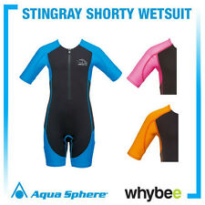 AQUA SPHERE STINGRAY SHORTY WET SUIT KIDS SUN SUIT CHILDREN'S SWIMWEAR
