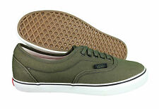 VANS. Era Lo Pro. Heavy Canvas. Green / White. Unisex Shoe. Mens US Size 6.5.