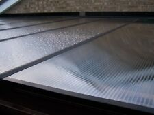 Polycarbonate 10mm Carport, Lean-to roof with Fixings 695mm wide sheets - Canopy