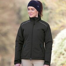 Shires Team Training Ladies Waterproof Fitted Riding Jacket Black XS - XL