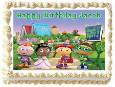 SUPER WHY  Image Edible Cake topper decoration