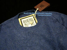 Ruehl No.925 Ezra Fitch by Abercrombie 100% cashmere sweaters/jumpers NWT authen
