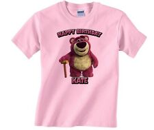 Personalized Custom Toy Story Lots O Hugging Bear Happy Birthday Shirt